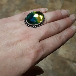 **$15 Summer Sale*** Ametrine Silver Plated Ring.